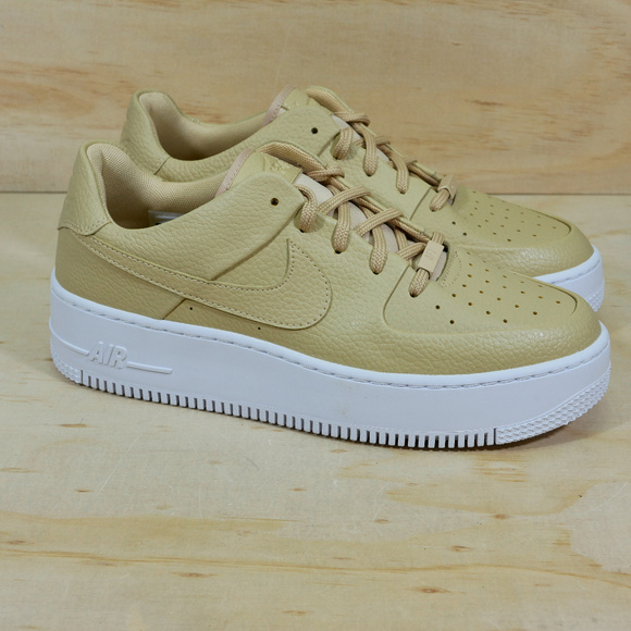 huge discount 0dcf0 829ba Nike Air Force 1 Sage Low Desert Ore Shoes NEW NWT